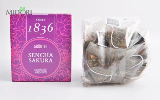Zielona herbata sencha sakura 1