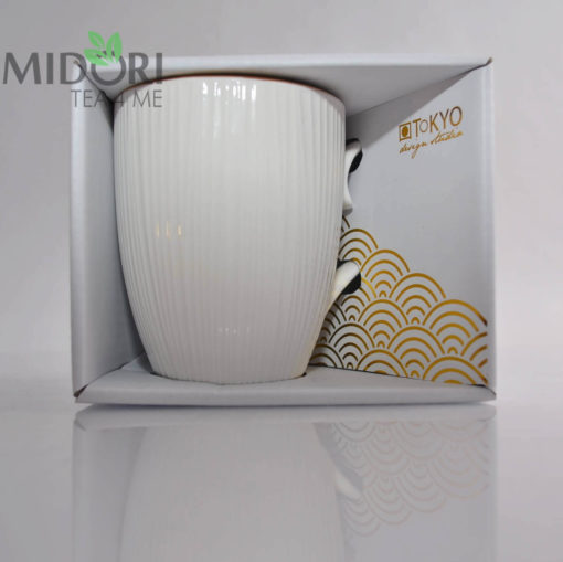 Porcelanowy Kubek Nippon White 001088 6