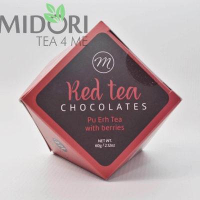 Praliny z herbata Pu-Erh z jagodami 2