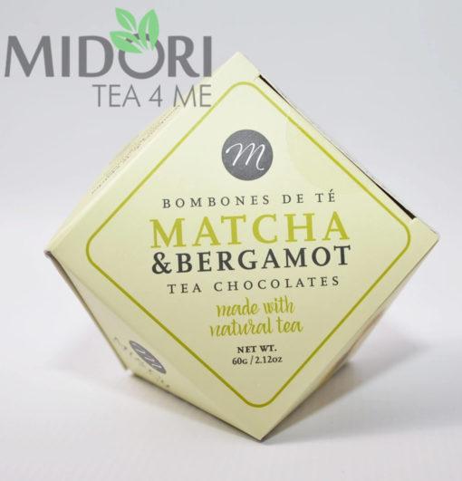 Praliny z herbata matcha i bergamotka 1