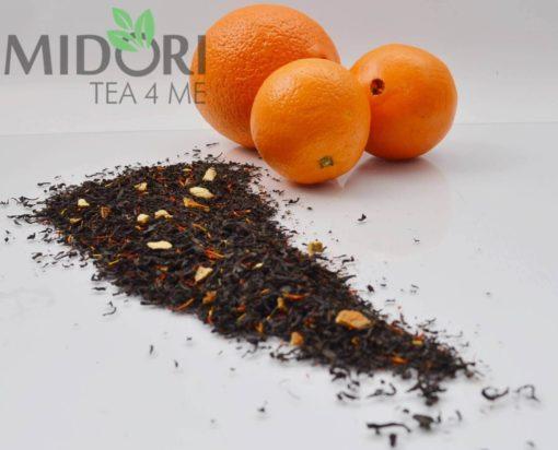 Czarna Herbata z Pomarańczą i Krokoszem 1