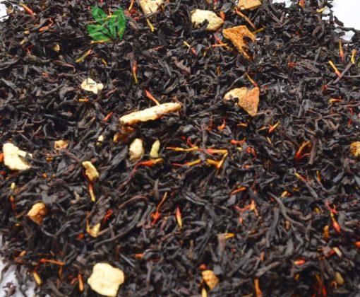 Czarna Herbata z Pomarańczą i Krokoszem 3