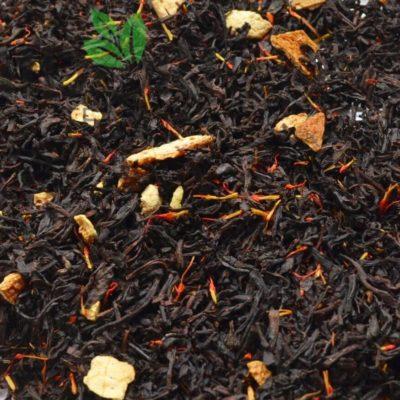 Czarna Herbata z Pomarańczą i Krokoszem 4
