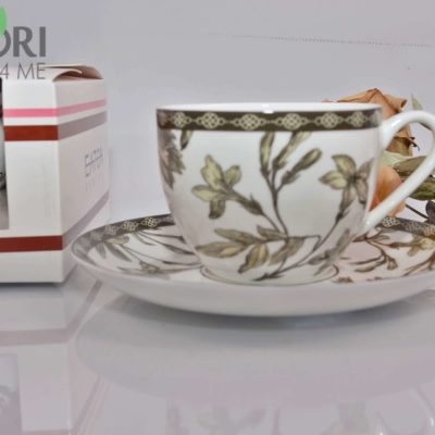 Porcelanowa filiżanka teli natalia biała 5