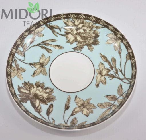 Porcelanowa filiżanka teli natalia niebieska 6