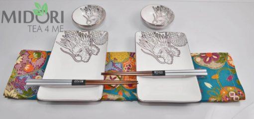 Zestaw do sushi Tokyo Design Dragon Platinum 13