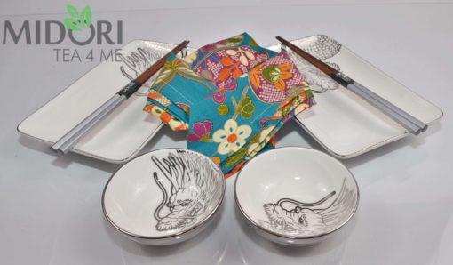 Zestaw do sushi Tokyo Design Dragon Platinum 9