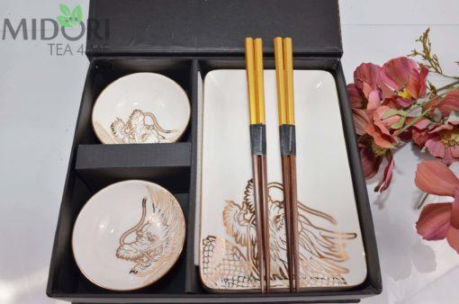 Zestaw do sushi Tokyo Design Studio Dragon Gold 3