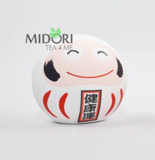 Daruma japońska figurka biała