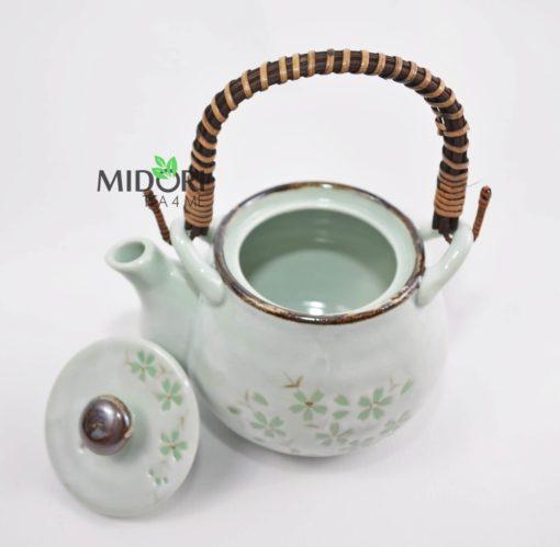 Komplet do herbaty ceramiczny japoński 4