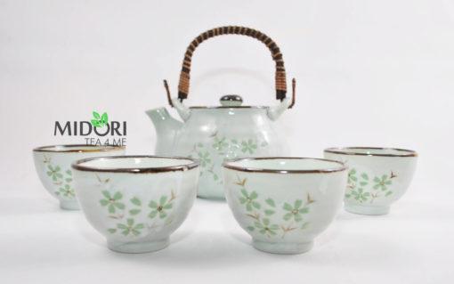 Komplet do herbaty ceramiczny japoński