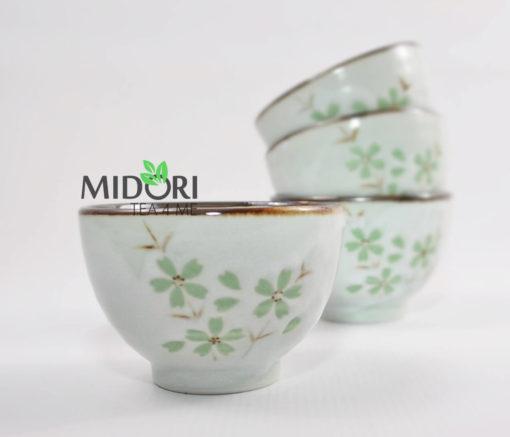 Komplet do herbaty ceramiczny japoński 8