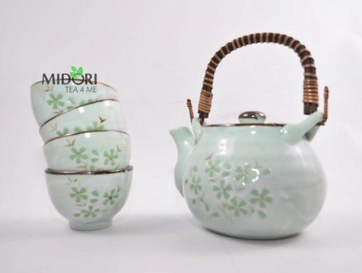 Zestaw komplet do herbaty ceramiczny japoński