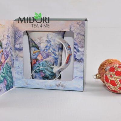 kubek ceramiczny świąteczny gadżet