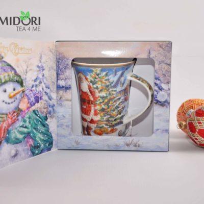 kubek swiateczny 001401 zimowy prezent ceramiczny