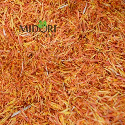 kwiat krokosza barwierskiego ziołowa herbata susz