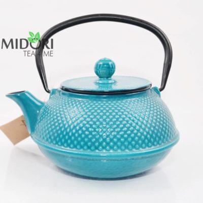 dzbanek żeliwny, zaparzacz do herbaty żeliwny, czajnik żeliwny, dzbanek żeliwny z sitkiem, imbryk żeliwny do herbaty, tradycyjny dzbanek do parzenia herbaty, imbryk z sitkiem
