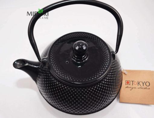 dzbanek żeliwny, zaparzacz do herbaty żeliwny, czajnik zeliwny, dzbanek żeliwny z sitkiem, imbryk żeliwny do herbaty, tradycyjny dzbanek do parzenia herbaty, imbryk z sitkiem 2