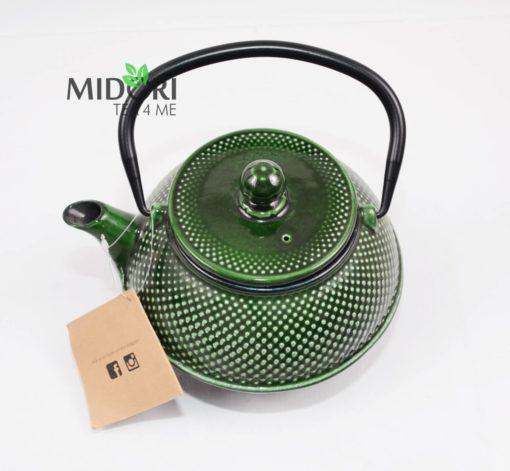 dzbanek żeliwny, zaparzacz do herbaty żeliwny, czajnik zeliwny, dzbanek żeliwny z sitkiem, imbryk żeliwny do herbaty, tradycyjny dzbanek do parzenia herbaty, imbryk z sitkiem 4