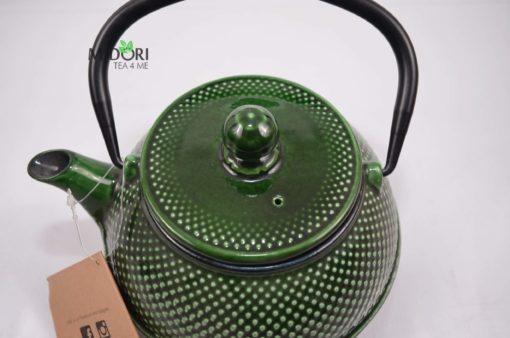 dzbanek żeliwny, zaparzacz do herbaty żeliwny, czajnik zeliwny, dzbanek żeliwny z sitkiem, imbryk żeliwny do herbaty, tradycyjny dzbanek do parzenia herbaty, imbryk z sitkiem 5
