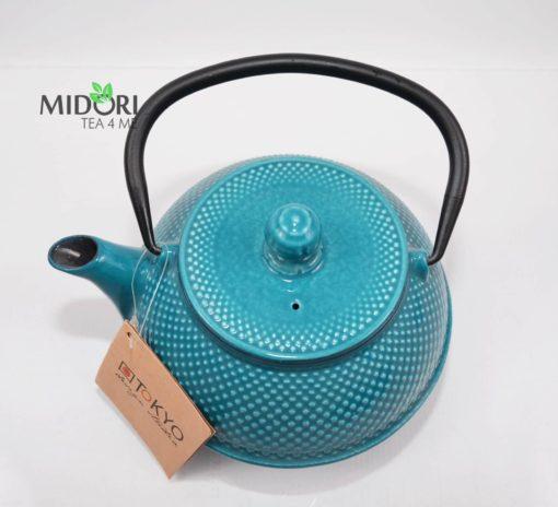 dzbanek żeliwny, zaparzacz do herbaty żeliwny, czajnik zeliwny, dzbanek żeliwny z sitkiem, imbryk żeliwny do herbaty, tradycyjny dzbanek do parzenia herbaty, imbryk z sitkiem 6