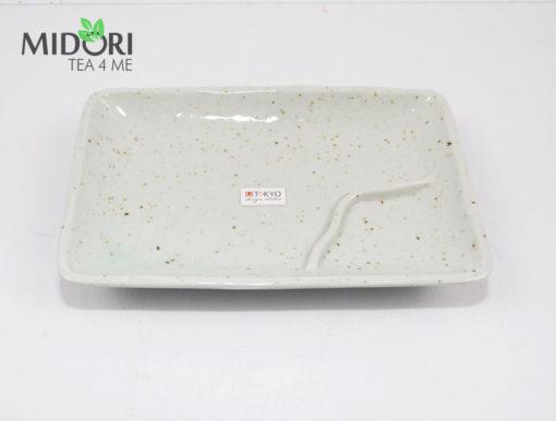 komplet do sushi z pałeczkami, nakrapiana ceramika, zestaw do sushi, ceramika japońska, porcelana z japonii, japońska porcelana6