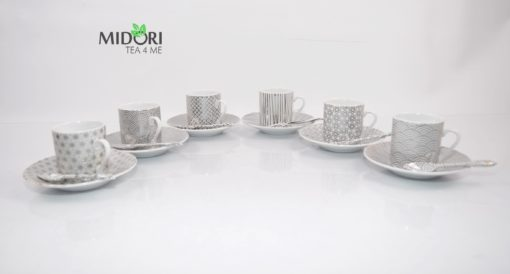 zestaw do espresso, komplet do espresso, komplet filiżanek do espresso, filiżanki do kawy, ceramika kawowa, ceramika do espresso, porcelana do espresso 4