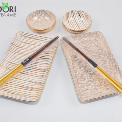 zestaw do sushi, zestaw tokyo design studio, komplet do sushi, ceramika japonska, porcelana do sushi, ceramika kuchnia azjacka, zestaw na prezent, komplet na prezent 3