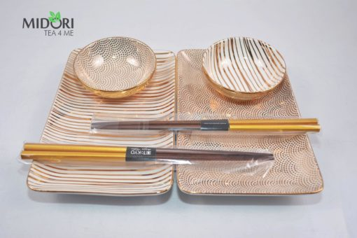 zestaw do sushi, zestaw tokyo design studio, komplet do sushi, ceramika japonska, porcelana do sushi, ceramika kuchnia azjacka, zestaw na prezent, komplet na prezent 8