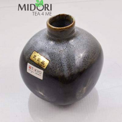 karafka do sake, butelka do sake, tokuri, japońskie naczynie do sake, wazon japoński, naczynia japońskie, recznie malowane naczynia, ceramika japońska 2 (1)