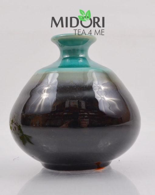 karafka do sake, butelka do sake, tokuri, japońskie naczynie do sake, wazon japoński, naczynia japońskie, recznie malowane naczynia, ceramika japońska 5