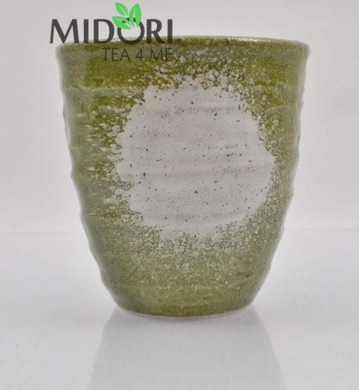zestaw czarek japońskich AKAI, komplet czarek do herbaty, komplet japońskich czarek, kubki japońskie, kubki do herbaty, naczynia do herbaty, filiżanka do espresso, recznie malowana ceramika5
