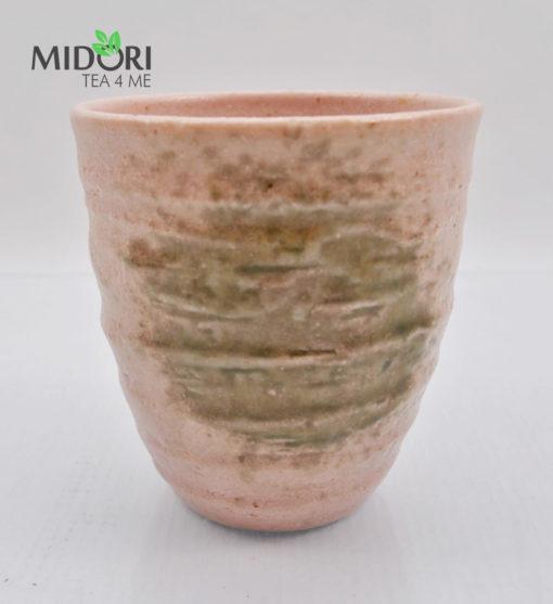 zestaw czarek japońskich AKAI, komplet czarek do herbaty, komplet japońskich czarek, kubki japońskie, kubki do herbaty, naczynia do herbaty, filiżanka do espresso, recznie malowana ceramika9