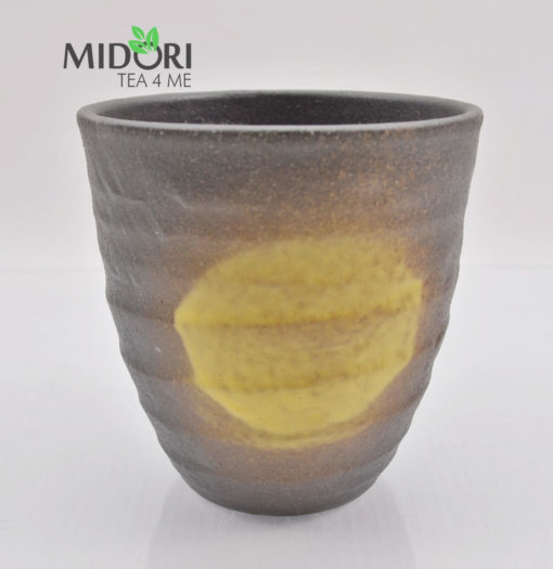 zestaw czarek japońskich AKAI, komplet czarek do herbaty, komplet japońskich czarek, kubki japońskie, kubki do herbaty, naczynia do herbaty, filiżanka do kawy, recznie malowana ceramika 12
