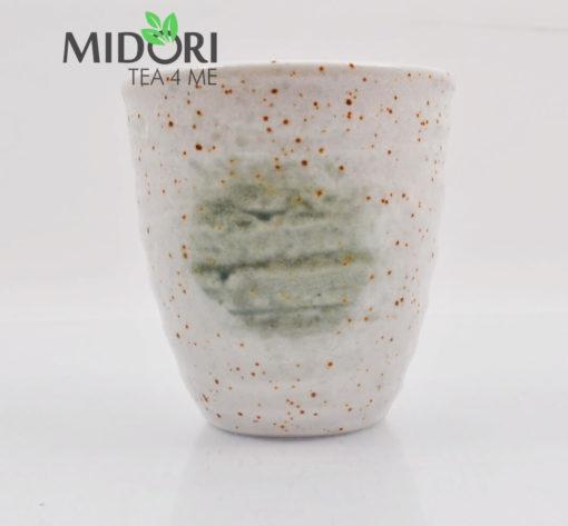zestaw czarek japońskich AKAI, komplet czarek do herbaty, komplet japońskich czarek, kubki japońskie, kubki do herbaty, naczynia do herbaty, filiżanka do kawy, recznie malowana ceramika 13