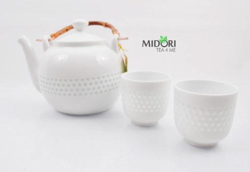 zestaw do herbaty, zestaw do parzenia herbaty z porcelany, dzbanek i czarki do herbaty, komplet do herbaty, ryżowy serwis , porcelana ryżowa, imbryk do herb (3