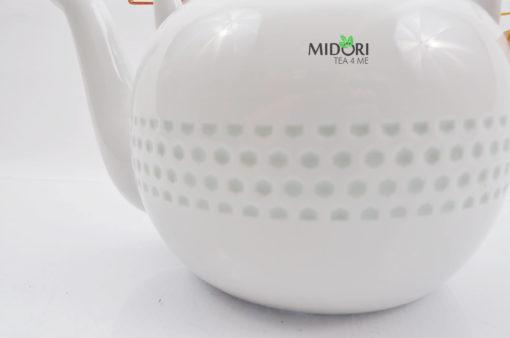 zestaw do herbaty, zestaw do parzenia herbaty z porcelany, dzbanek i czarki do herbaty, komplet do herbaty, ryżowy serwis , porcelana ryżowa, imbryk do herb (3 (5)