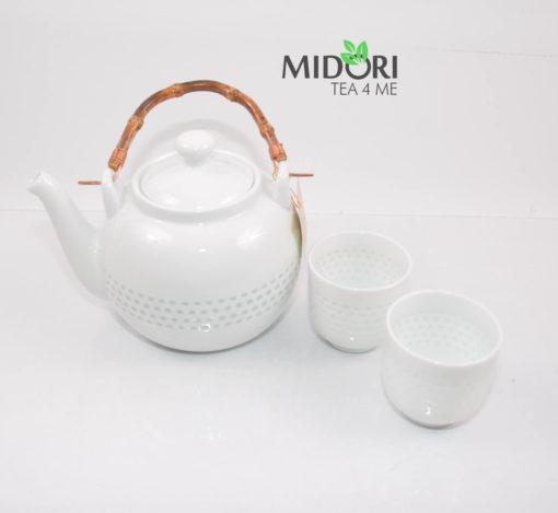 zestaw do herbaty, zestaw do parzenia herbaty z porcelany, dzbanek i czarki do herbaty, komplet do herbaty, ryżowy serwis , porcelana ryżowa, imbryk do herb (3 (7)