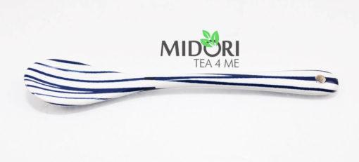 ceramiczne łyżeczki, japońska ceramika, akcesoria do herbaty, japońskie łyżeczki do herbaty, łyżeczki porcelanowe komplet, komplet łyżeczek ceramicznych 5