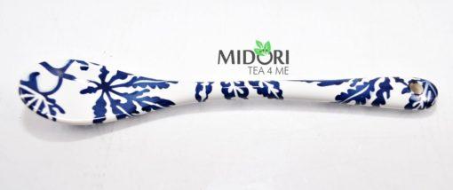 ceramiczne łyżeczki, japońska ceramika, akcesoria do herbaty, japońskie łyżeczki do herbaty, łyżeczki porcelanowe komplet, komplet łyżeczek ceramicznych 6