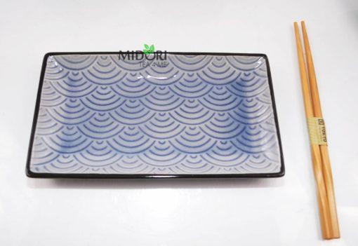 zestaw do sushi, komplet do sushi, ceramiczna zastawa do sushi, pomysł na prezent, japońska zastawa do sushi, japońska ceramika, japońska porcelana, japoński talerz sushi 5