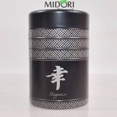 Metalowa puszka na herbatę, puszka Kyoto, puszka na zioła, pojemnik na herbatę, ozdobna puszka japoński wzór